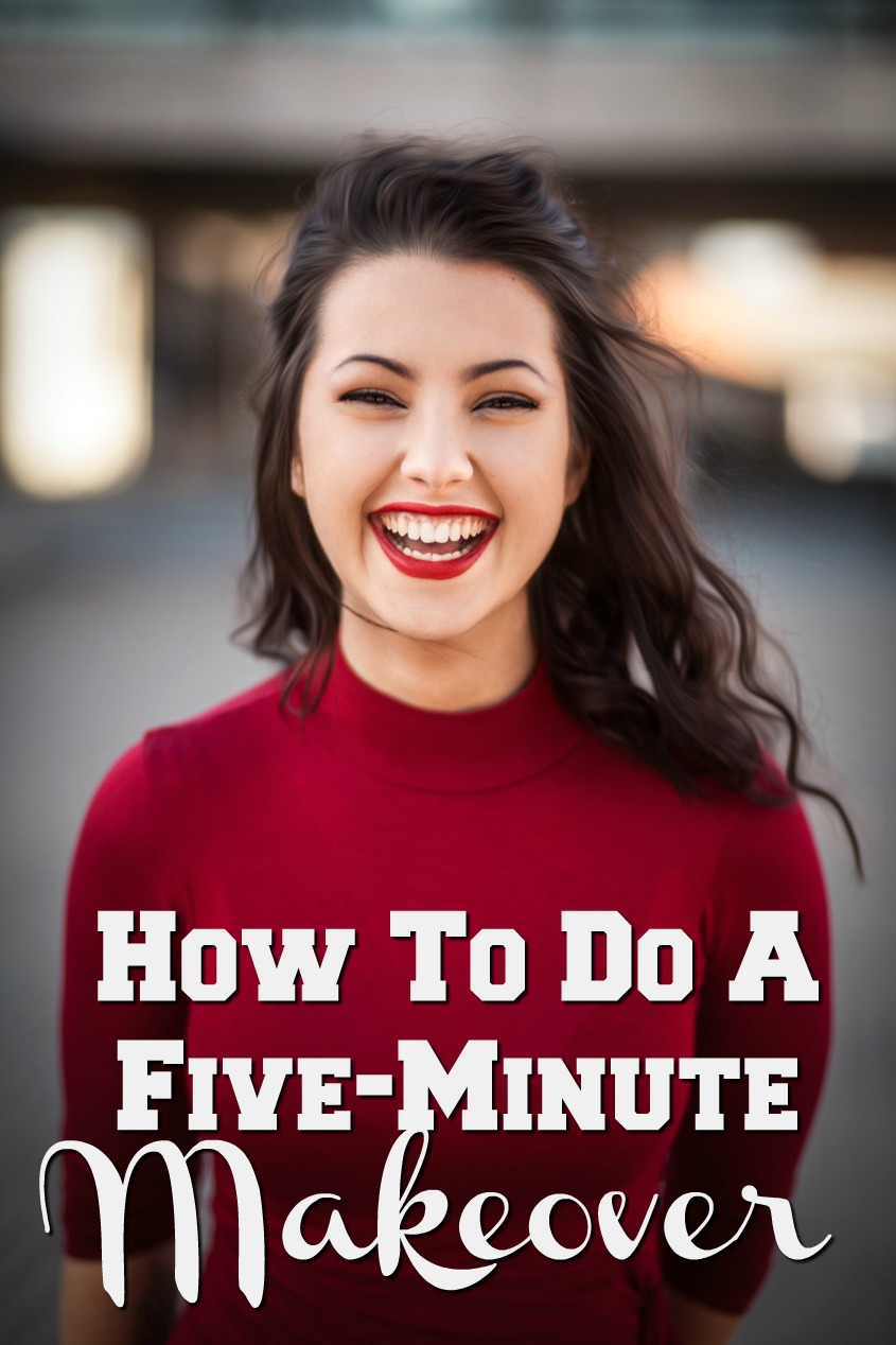 How To Do A Five-Minute Makeover #beauty #selfcare #makeover