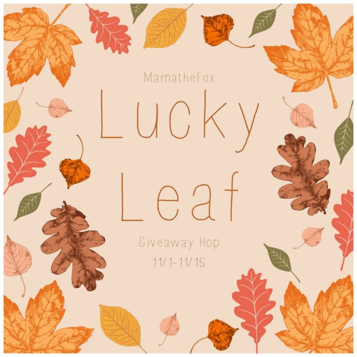 lucky leaf giveaway hop