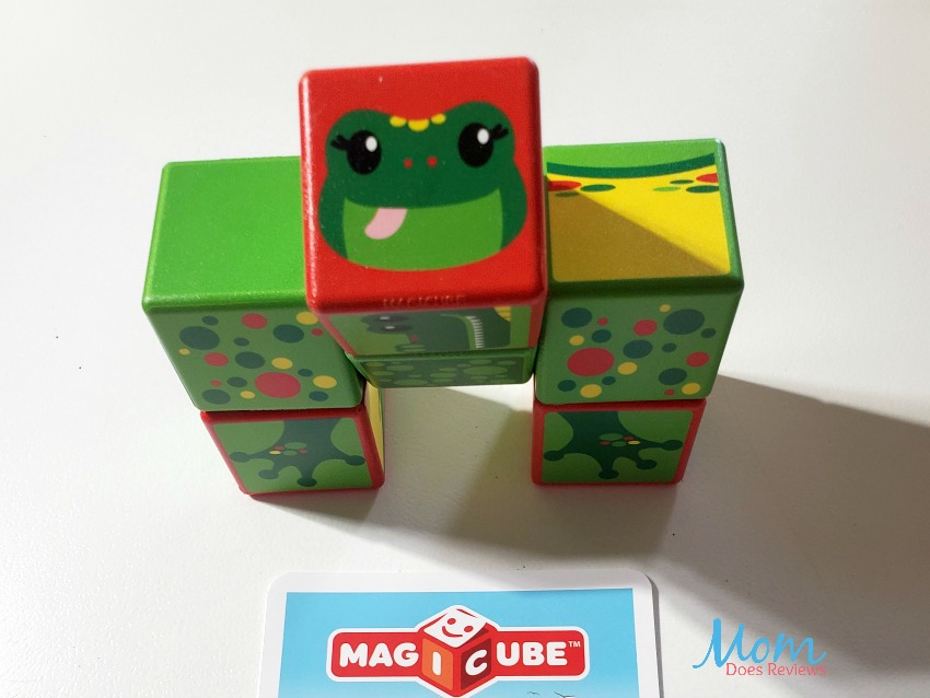 Encourage Creative Play with Magicube by Geomag