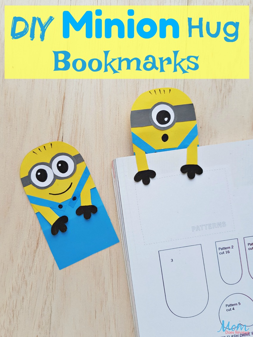 DIY Minion Hug Bookmarks - A Minion Inspired #Craft #diy #minions #funstuff