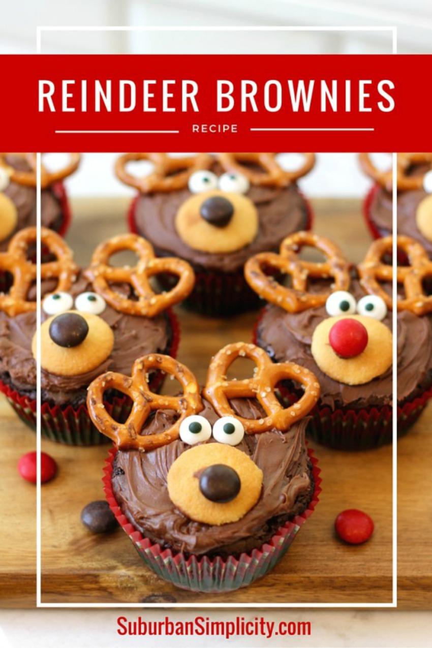 Reindeer Brownie Recipe