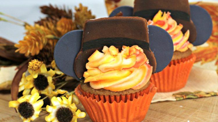 Mickey Thanksgiving Cupcakes