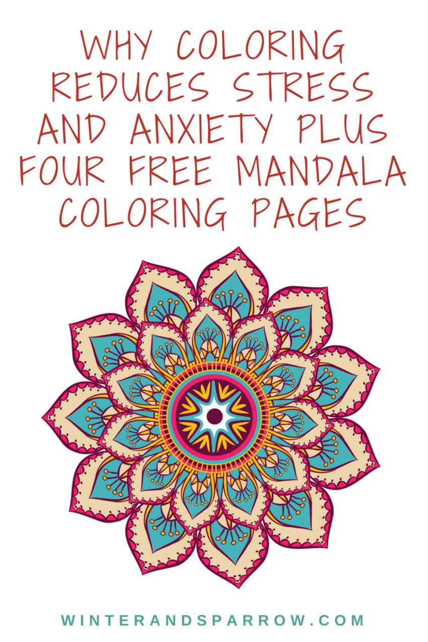 Why Coloring Reduces Stress and Anxiety