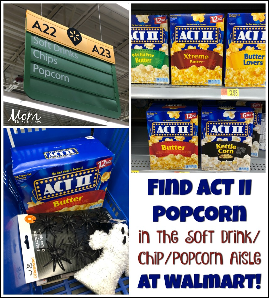 Host an At-Home-Movie Night with your Teen with Act II Popcorn from Walmart! #ad Get it here: shpp.in/1k0wtntsi