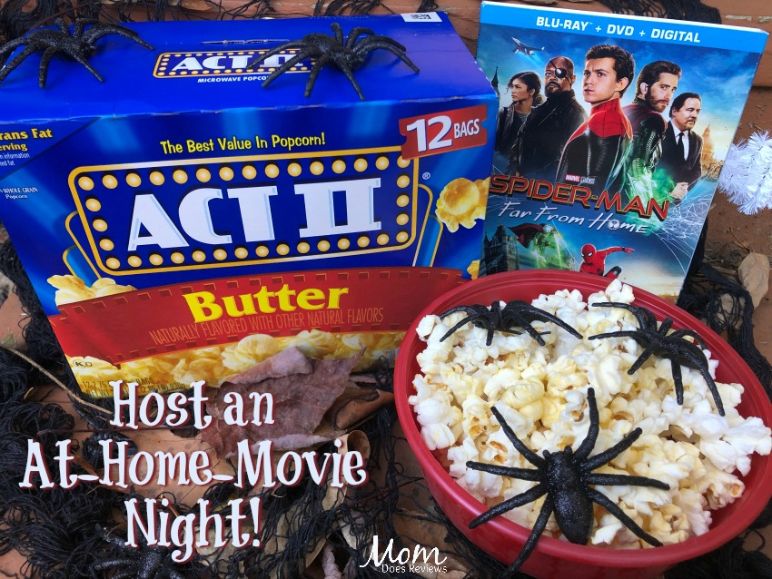 Host an At-Home-Movie Night