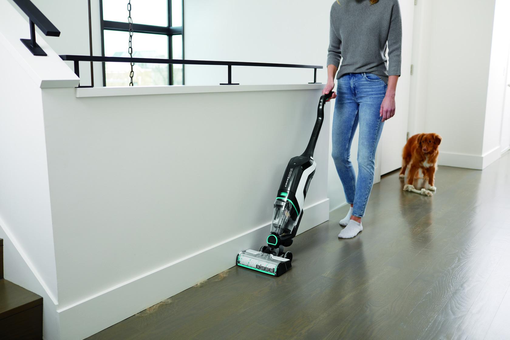 Get the BISSEL CrossWave Cordless Max Wet/dry Vacuum at #BestBuy #BuyBISSELLSavePets