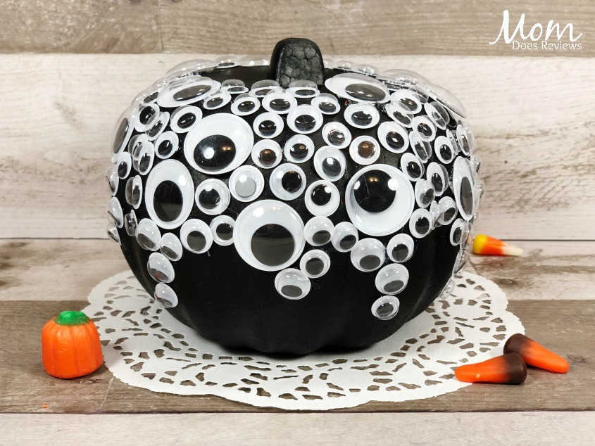 Dollar Store Googly Eyes Pumpkin Craft