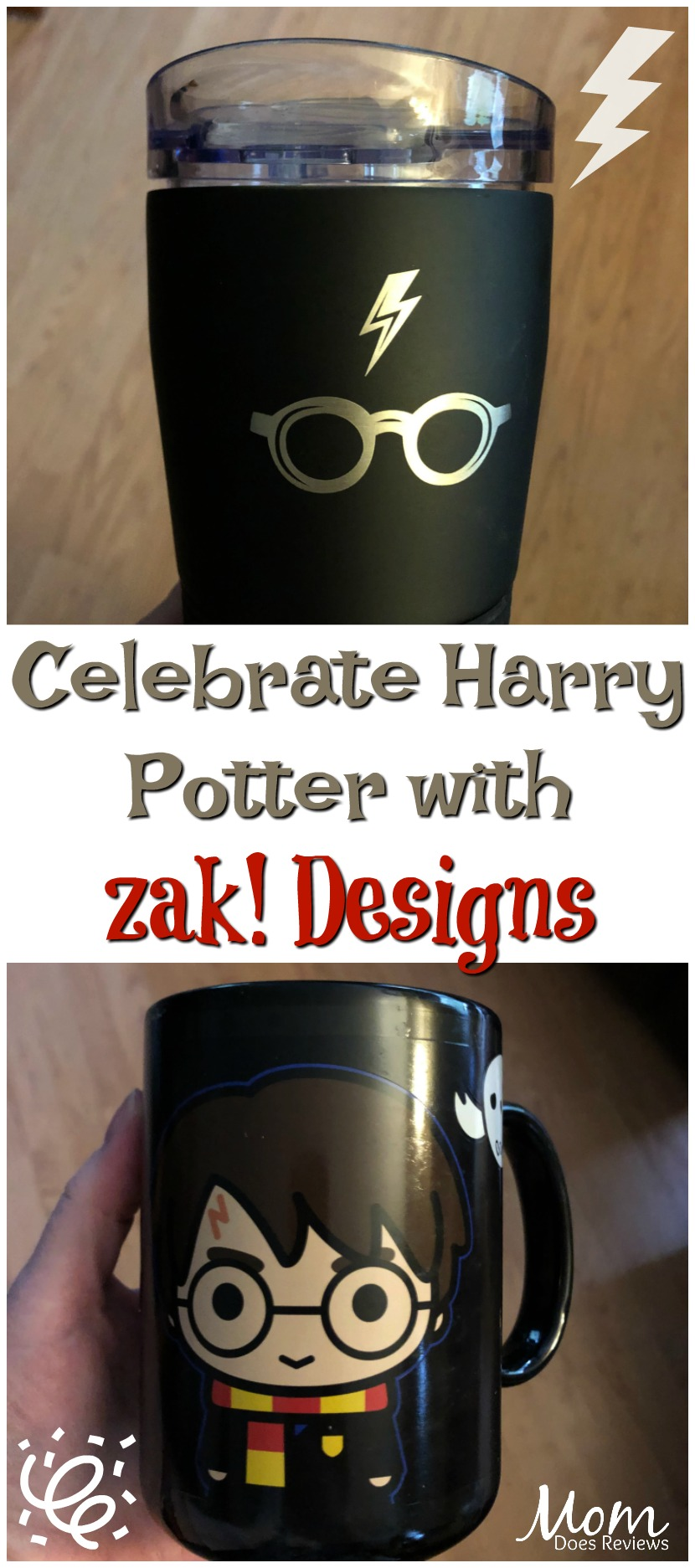 Celebrate the Magic of Harry Potter with Zak Designs #MegaChristmas19 #harrypotter #zakdesigns