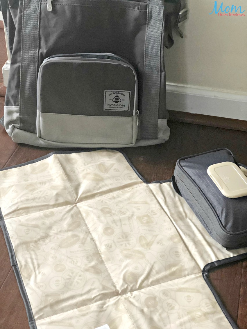 Take The Humble-Bee All Heart Diaper Bag On All of Your Adventures