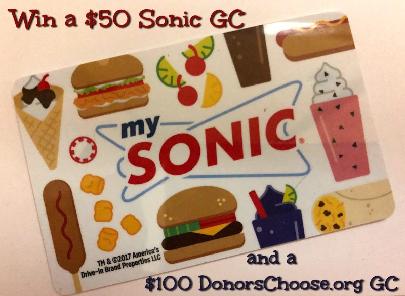 Join SONIC's Limeades for Learning Fall Voting Campaign & #Win $50 SONIC GC! #LimeadesForLearning