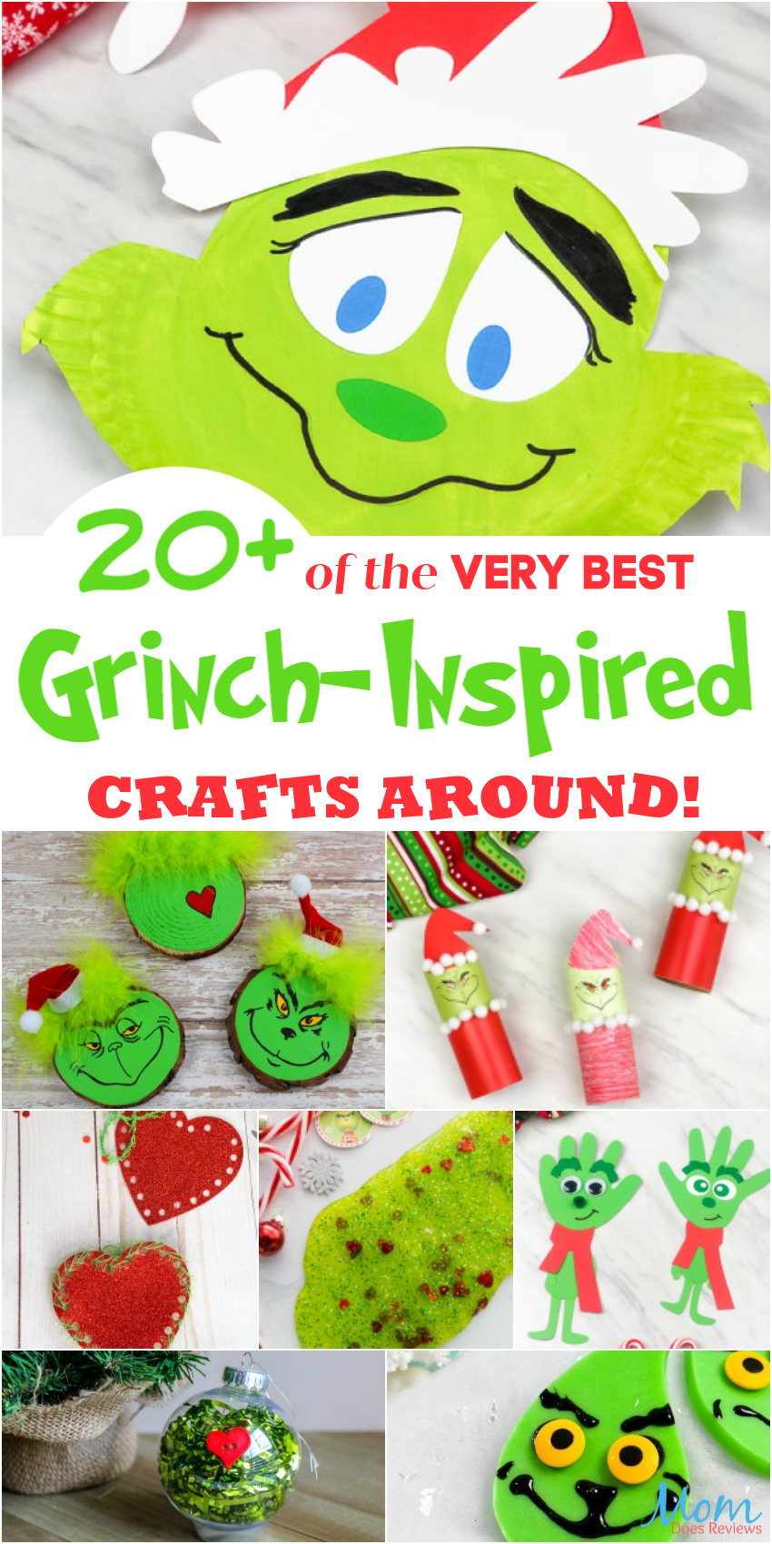 Grinch Inspired #crafts #christmas #diy