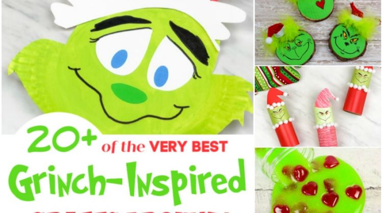20+ of the VERY Best Grinch-Inspired Crafts Around!