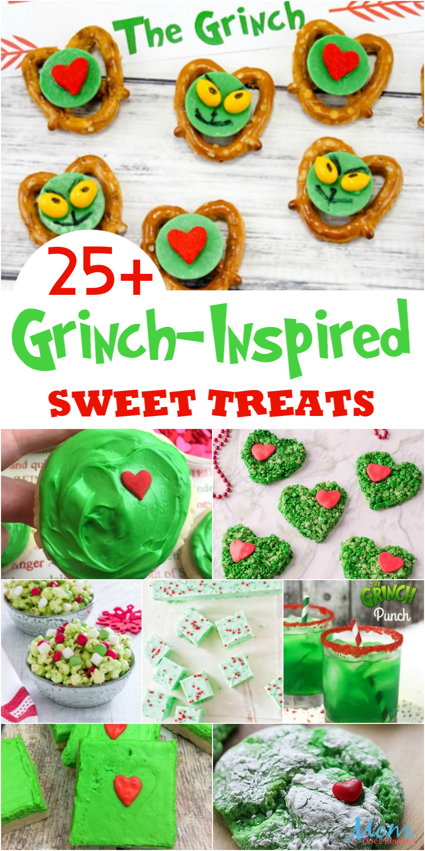 25+ Grinch-Inspired Sweet Treats that Will Melt the Meanest Heart! #recipes #funfood #christmas
