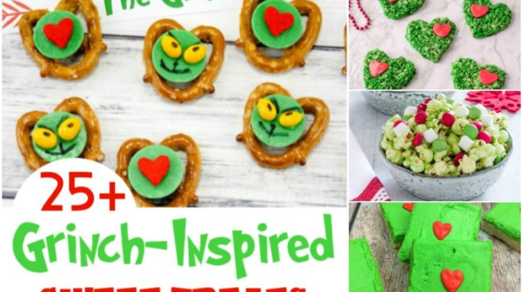 25+ Grinch-Inspired Sweet Treats that Will Melt the Meanest of Hearts!