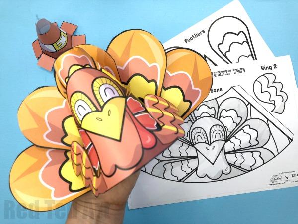 3D Printable Turkey Craft