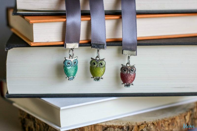 Beaded Ribbon Bookmarks Craft