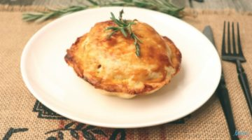 Beef & Vegetable Mini Pot Pies Recipe