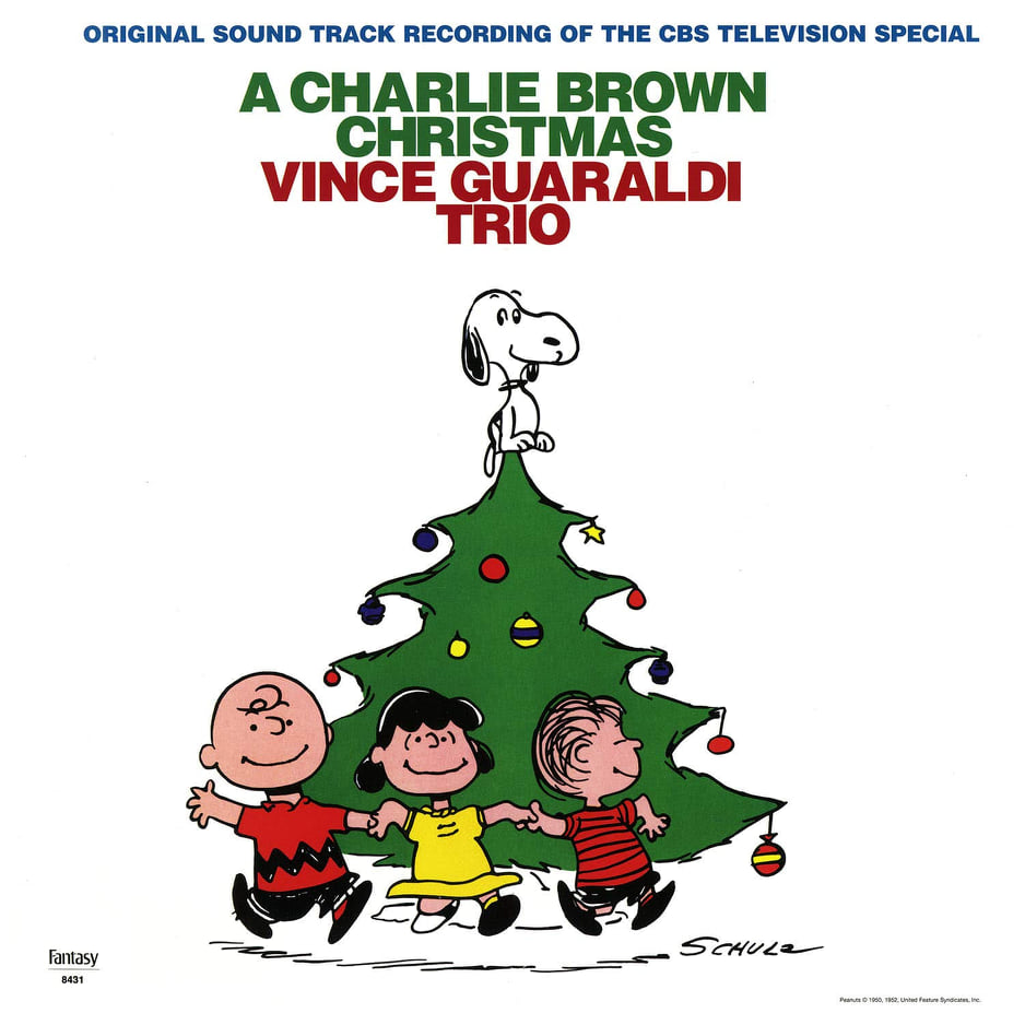 #Win A Charlie Brown Christmas CD or Vinyl!