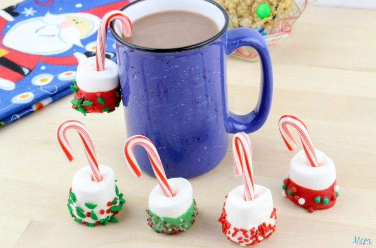 Candy Cane Hot Cocoa Dippers Recipe