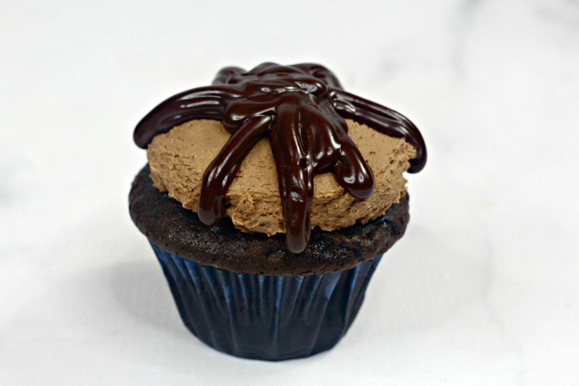 Chocolate Lovers Cupcake process