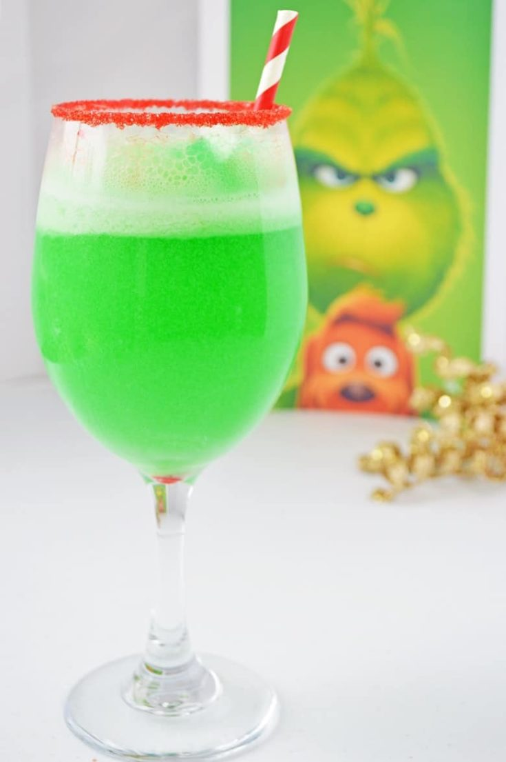 Christmas Grinch Punch Recipe (Small Batch, Non-Alcoholic)