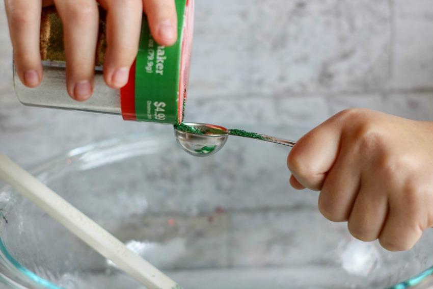 Christmas Slime Process