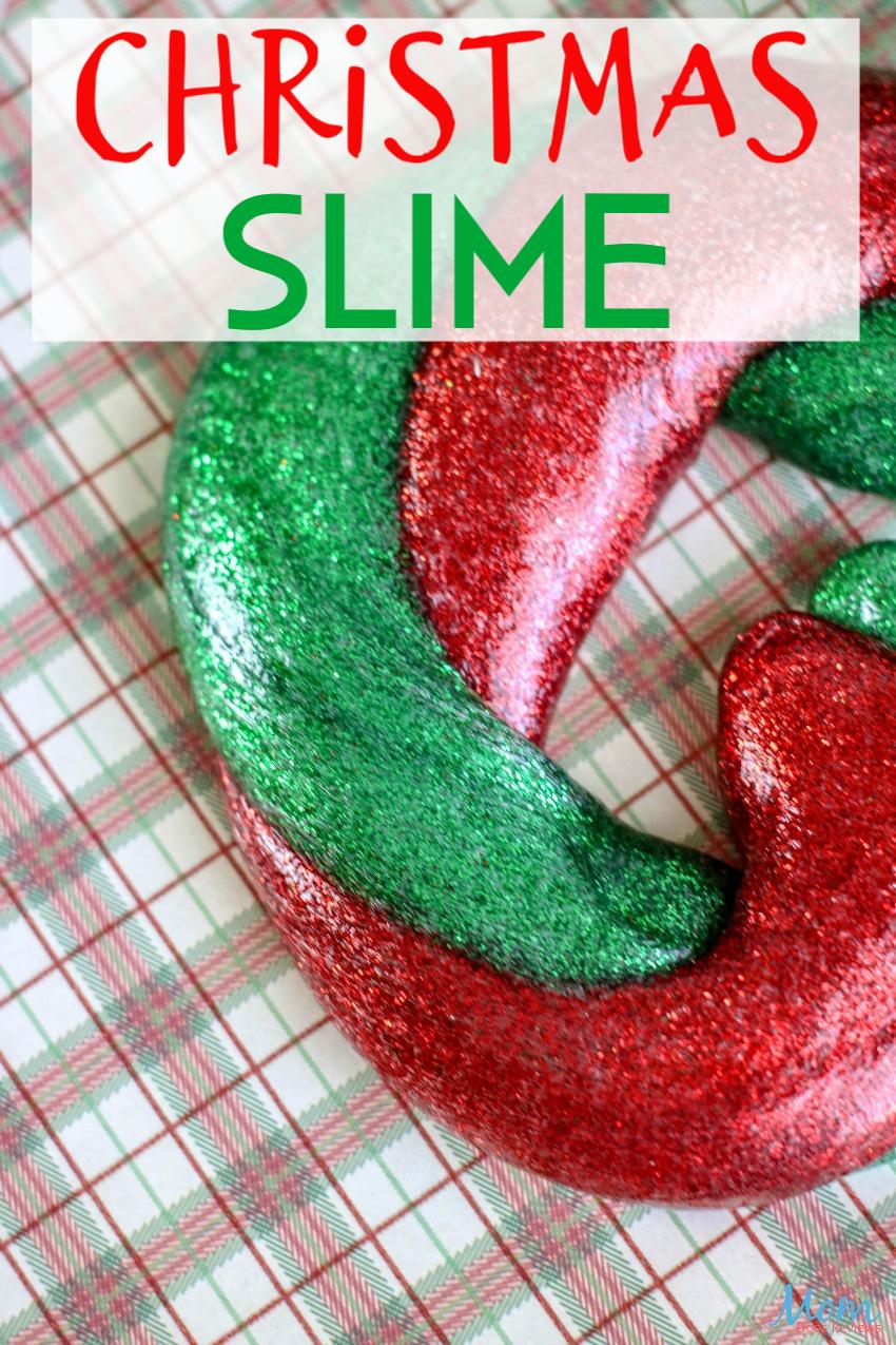 Easy Christmas Slime Recipe for the Kids #CRAFTS #DIY #cHRISTMAS