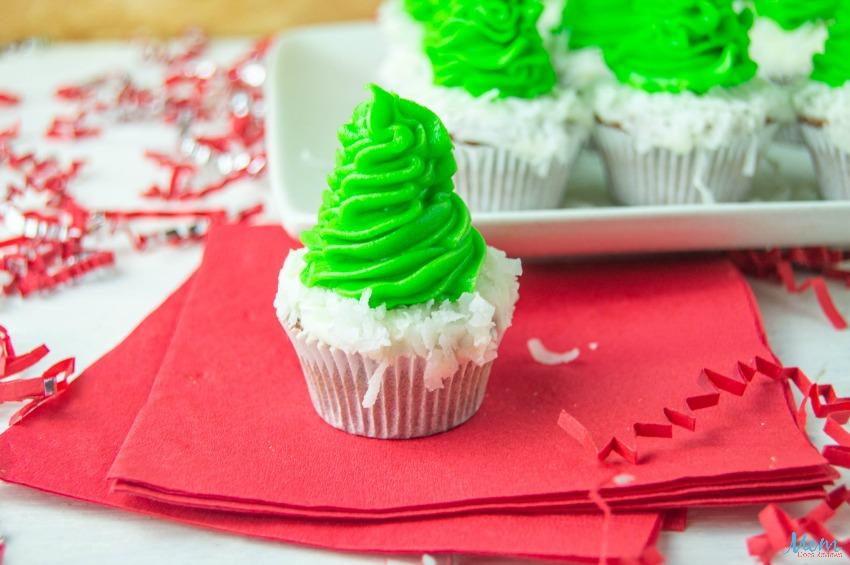 Christmas Tree Brownie Bites Recipe