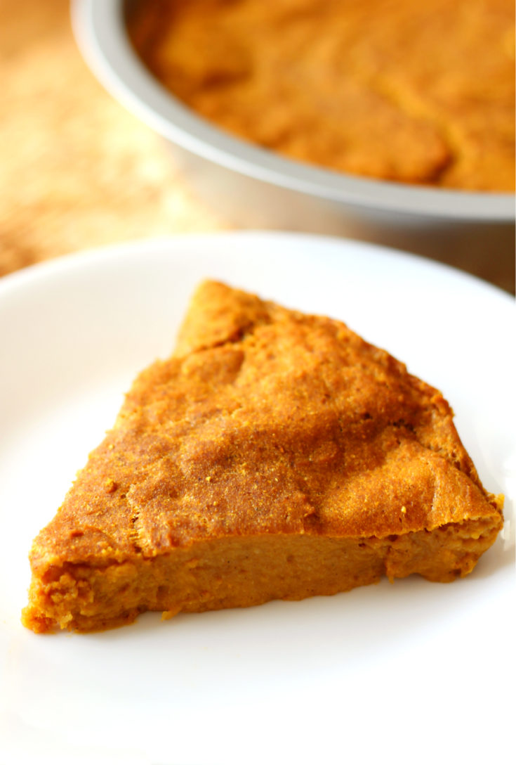 Gluten-Free Crustless Pumpkin Pie (Vegan, Allergy-Free, Paleo)
