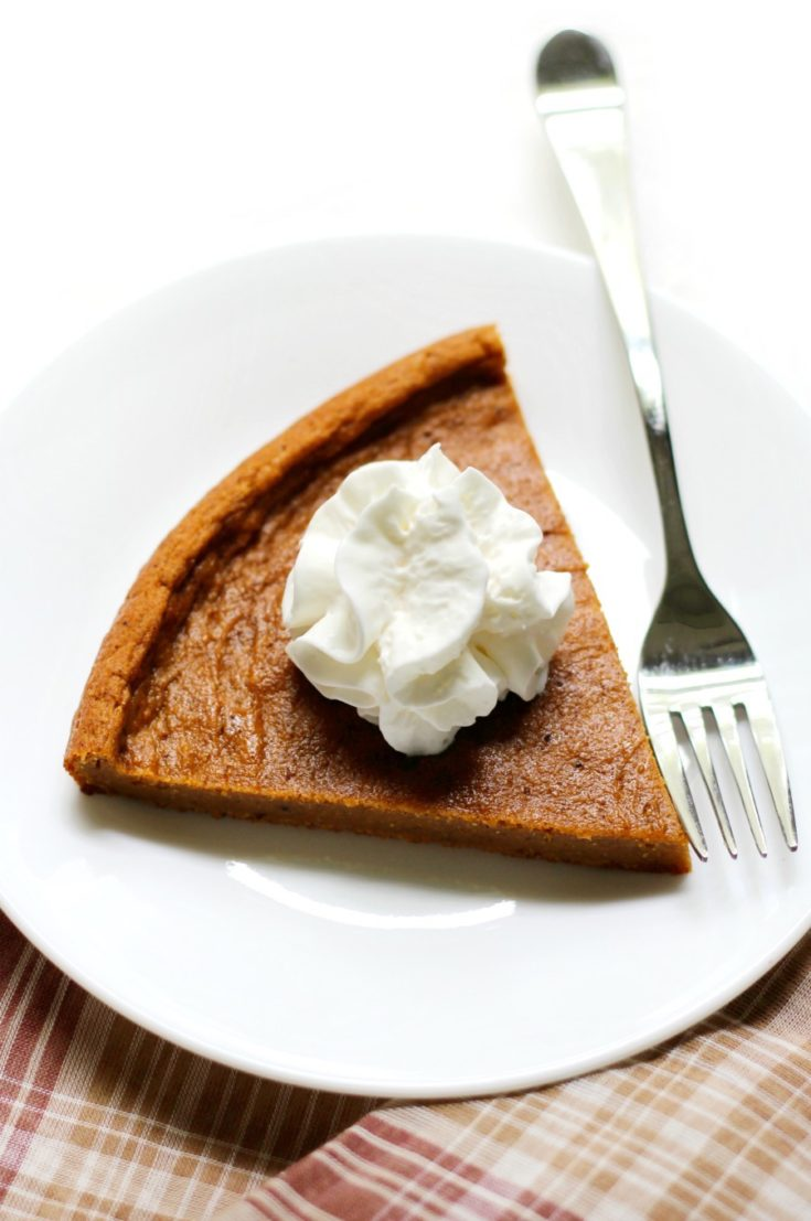 Gluten-Free Crustless Sweet Potato Pie (Vegan, Allergy-Free, Paleo)