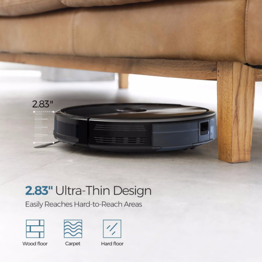 Make Life Easier With The Budget-Friendly Dser RoboGeek 20T Robot Vacuum Cleaner