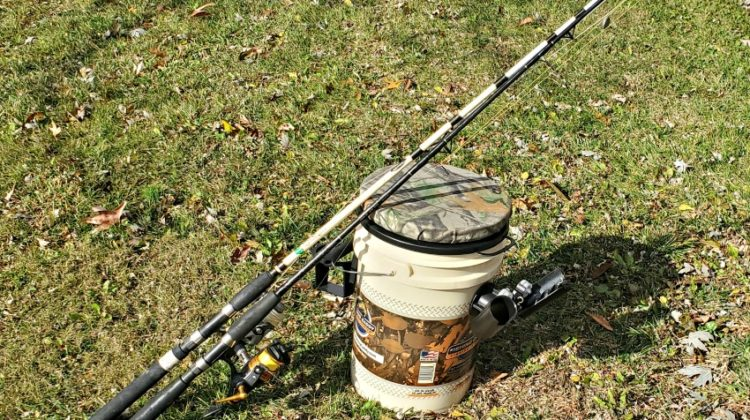 The Fishing Caddy Makes Fishing Easy