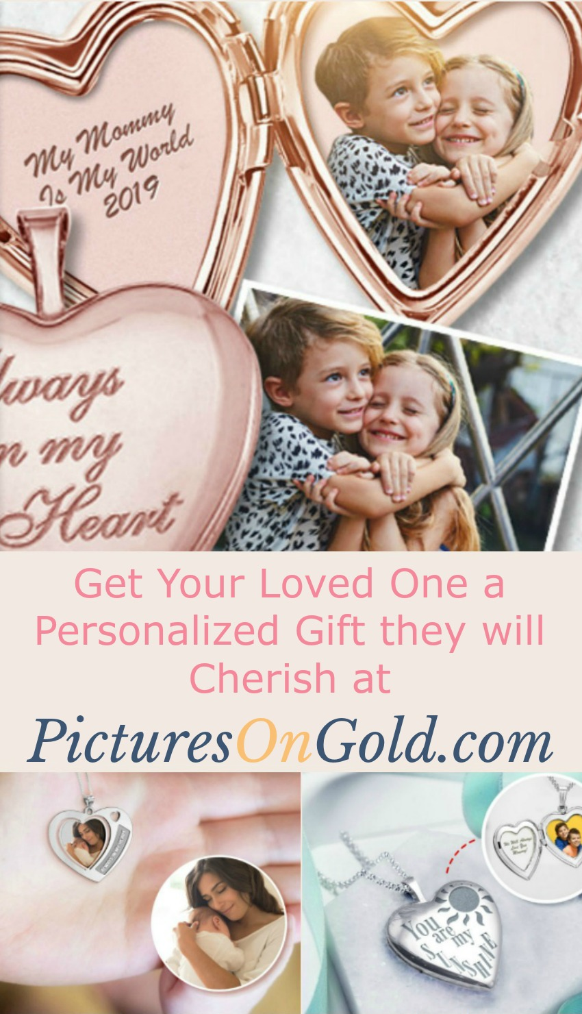 Get Your Loved One a Personalized Gift they will Cherish at PicturesOnGold.com #MegaChristmas19