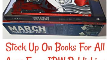 Stock Up On Books For All Ages From IDW Publishing
