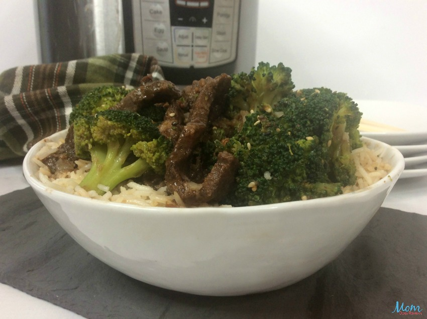Instant Pot Beef & Broccoli Recipe
