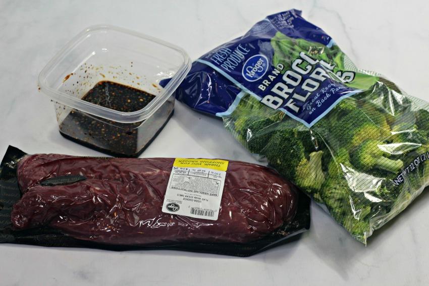 Instant Pot Beef & Broccoli Recipe ingredients
