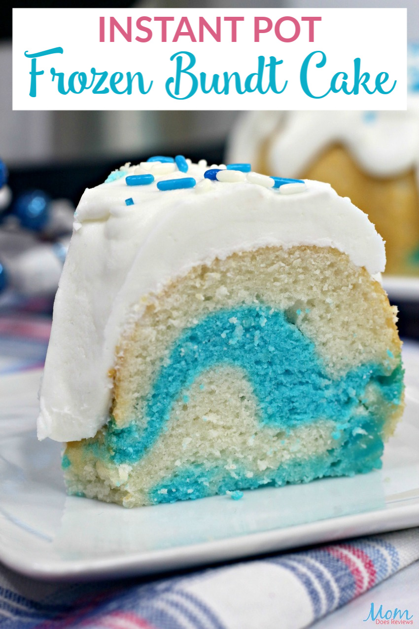 Instant Pot Frozen Bundt Cake #Recipe #Frozen #cake