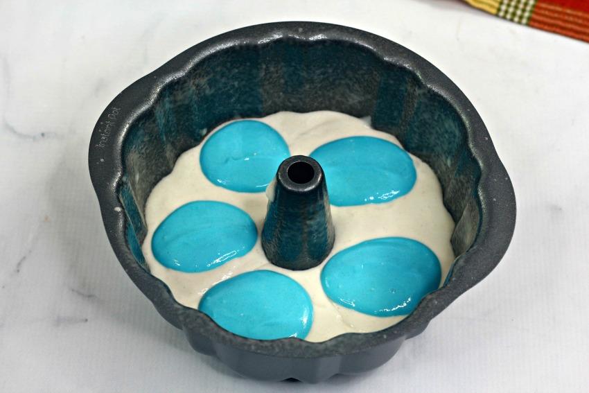 Instant Pot Frozen Bundt Cake process