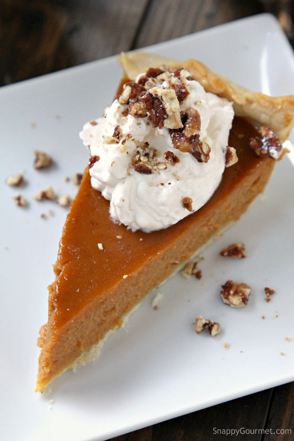Irish Cream Pumpkin Pie Recipe