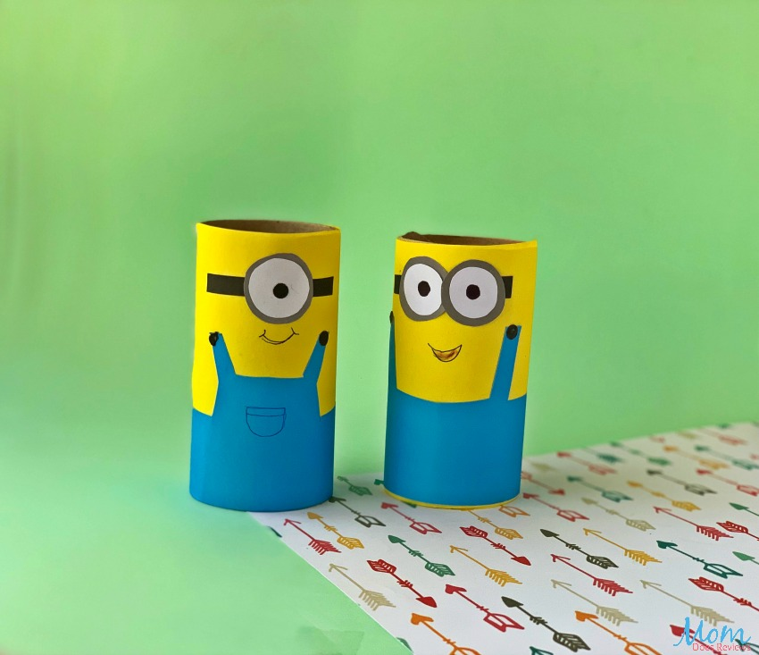 Minion Toilet Paper Roll Craft for kids