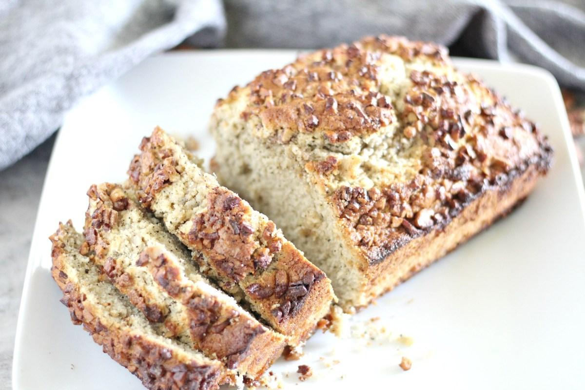 Caramel pecan Sweet Bread