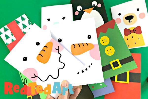 Super Simple Snowman Card Design