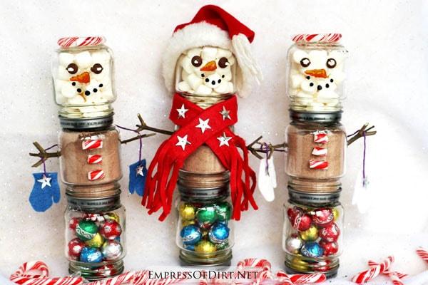 Snowman Hot Chocolate Kits