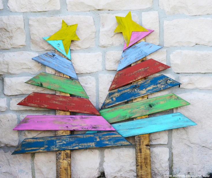 DIY Grinch Trees Decor