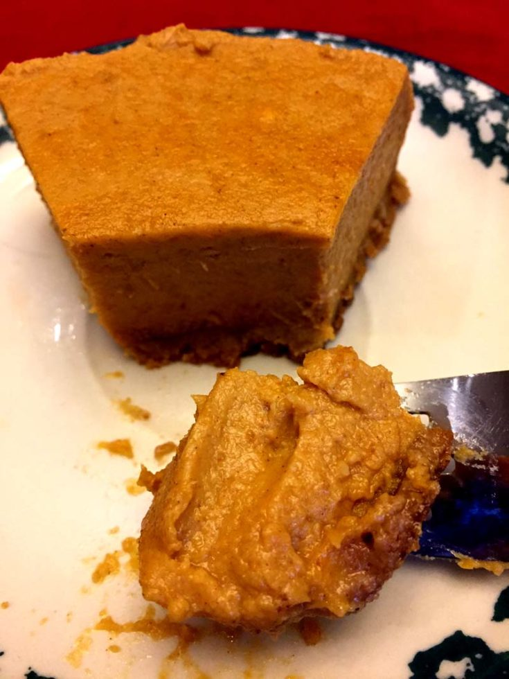 Instant Pot Sweet Potato Pie