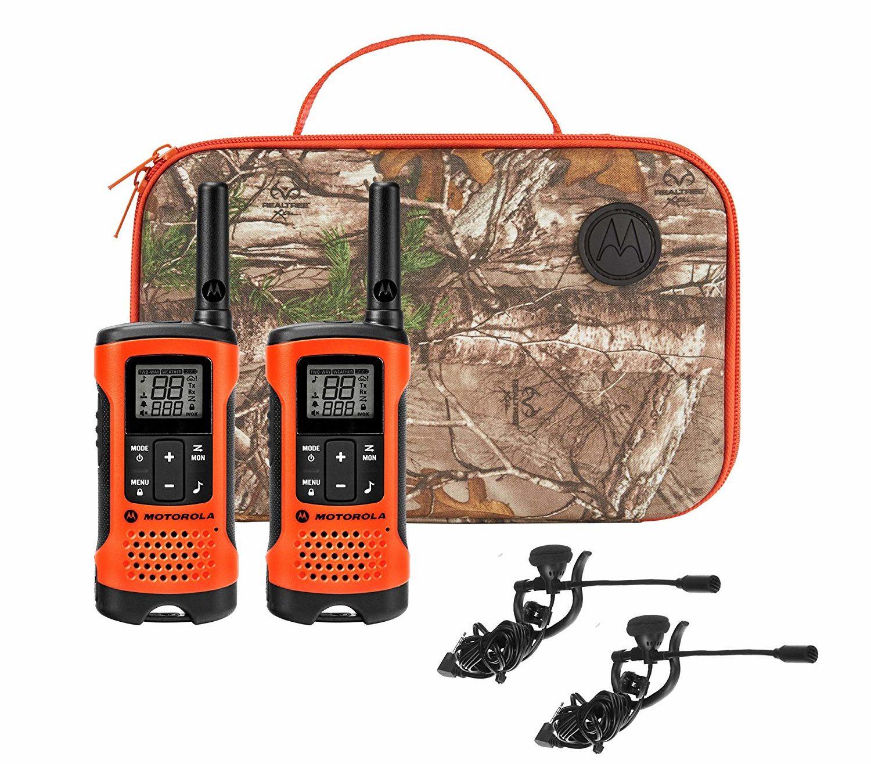 Motorola Talkabout T265 Rechargeable Two-Way Radio Bundle