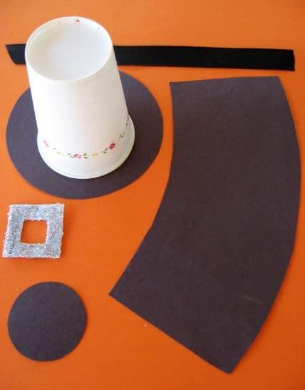 Pilgrim Hats Thanksgiving Craft