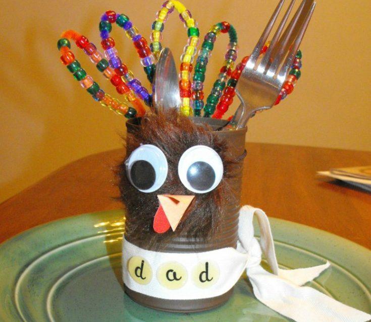 Preschool Thanksgiving Place Holders