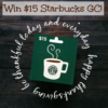#Win $15 Starbucks GC