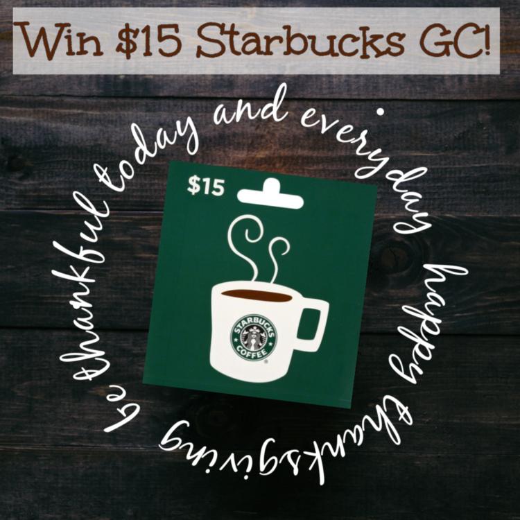 #Win $15 Starbucks GC